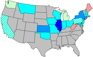 United States House of Representatives elections, 1912 - Image: 63 us house changes