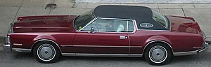 Vinyl roof - 1973 Lincoln Mark IV