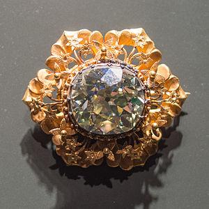 75 ct diamond Lombok treasure Museum Volkenkunde Leiden