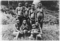 7 semi-nude hill women and a small child posed, India LCCN2001705608.jpg