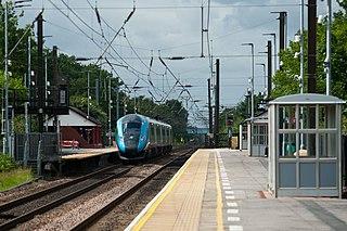 Northallerton railway station Railway station in North Yorkshire, England