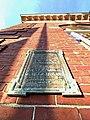84 Park Street, Stoughton - Lucius Clapp Memorial - Placard.jpg