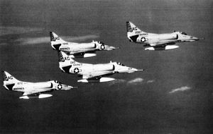 A-4E Skyhawks VMA-324 in flight c1966.jpg