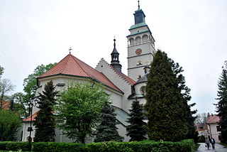 Co-Cathedral of the Nativity of the Blessed Virgin Mary, Żywiec Church in Żywiec, Poland