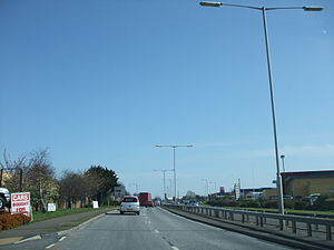 A22 road - Image: A22eastbourne