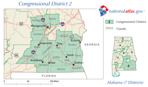 United States House of Representatives elections in Alabama, 2006 - Image: AL02 110