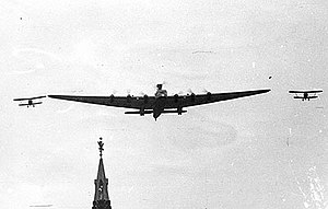 Tupolev - Tupolev ANT-20 Maxim Gorky, the largest airplane of the 1930s, was used for Stalinist propaganda.