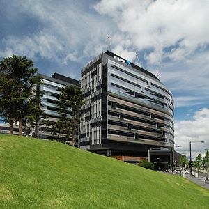 Hassell (architecture firm) - Image: ANZ Docklands