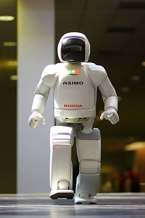 Robot Hall of Fame - Image: ASIMO 4.28.11