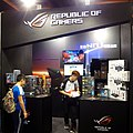 ASUS ROG booth, Taipei Game Show 20180126.jpg