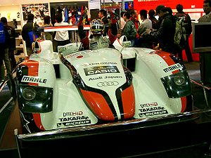 2004 24 Hours of Le Mans - The race-winning Audi R8, entered by Team Goh.