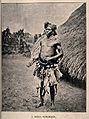 A Binsa sorcerer or shaman, Congo. Halftone. Wellcome V0015953.jpg