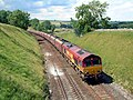 A Coal train heads south nr Smardale on a hot July afternoon. - geograph.org.uk - 763407.jpg