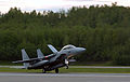 A Japanese Air Self Defense Force F-15J arrives at Elmendorf Air Force Base, Alaska, for Cooperative Cope Thunder, May 27, 2003 030527-F-XU966-005.jpg