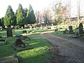 A Saturday lunchtime in December at Eastleigh Cemetery (2) - geograph.org.uk - 1623089.jpg