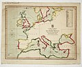 A chart shewing the relative situation of Milford Haven with all the principal ports of the European seas with their distances from that port. RMG K1093.jpg