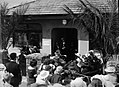A crowd gathered outside a Plunket room (AM 80037-1).jpg