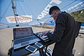 A disc jockey (DJ) photos by mostafa meraji عکس از دی جی در مراسم 02.jpg