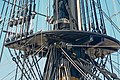 A maze of ropes on the fore mast of HMS Victory, Portsmouth - geograph.org.uk - 772891.jpg