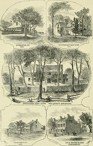 Grant's Farm - A personal history of Ulysses S. Grant, and sketch of Schuyler Colfax (1868)