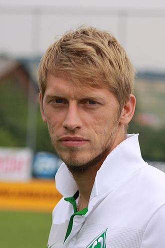 Aaron Hunt - Hunt with Werder Bremen in 2009