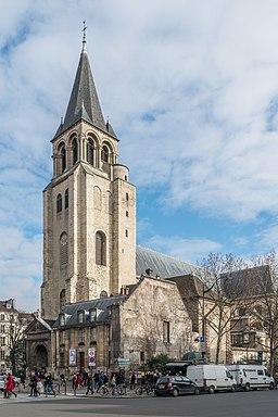 Abbaye de Saint-Germain-des-Prés 140131 1