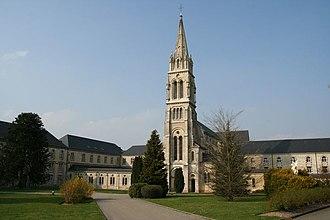 Rotrou III, Count of Perche - The monastery of La Trappe today