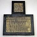 Abbess Roding - St Edmund's Church - Essex England - Edward Humberstone memorial inscription brass.jpg