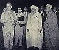 Abdul Karim Qasim with the delegation of Oman during the International Islamic Conference, Baghdad - 1962.jpg