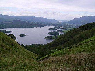 John George Woodford - Derwent Water, the retirement destination of Woodford