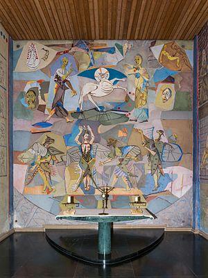 Angel's Chapel at Seckau Abbey