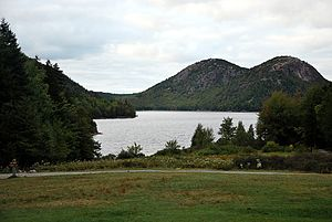 English: Acadia National Park Jordan Pond Main...