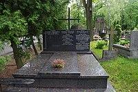 Adam Korwin-Sokołowski, Zygmunt Korwin-Sokołowski grób.JPG