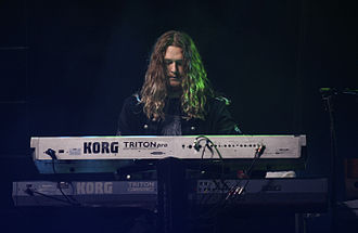 Adam Wakeman - Adam Wakeman on Ozzy Osbourne's Black Rain world tour 2008
