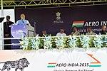 Address by Prime Minister Narendra Modi at Aero India Show in 2015.jpg