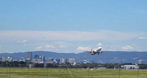 Adelaide Airport, 2008
