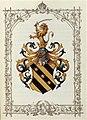 Adelsdiplom - Ruzicic von Sanodol 1878 - Wappen.jpg