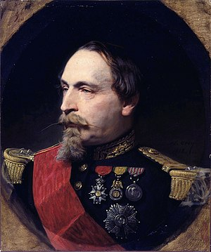 French presidential election, 1848 - Image: Adolphe Yvon Portrait of Napoleon III Walters 3795