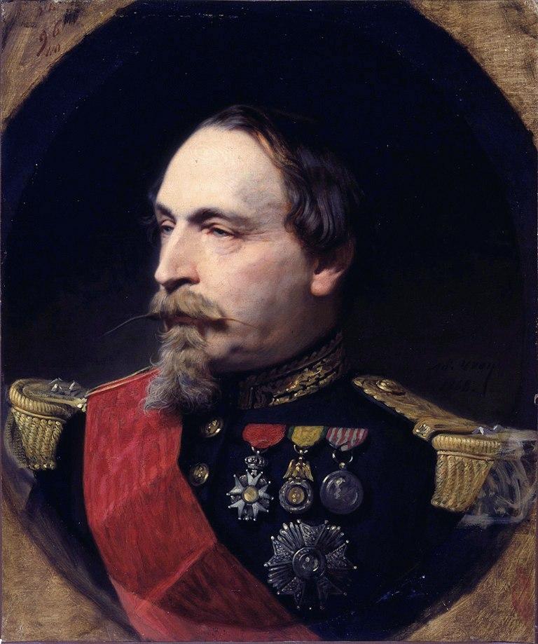 Adolphe Yvon - Portrait of Napoleon III - Walters 3795