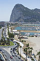 Aerial view of the queues to enter Gibraltar 02.jpg
