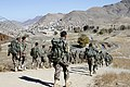 Afghan National Army commando recruits participate in a foot march during a commando selection and assessment course at Camp Commando in Kabul province, Afghanistan, Nov. 19, 2013 131119-A-FS865-081.jpg