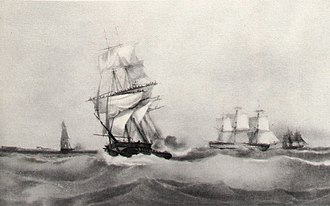 HMS Iphigenia (1808) - Africaine in French service