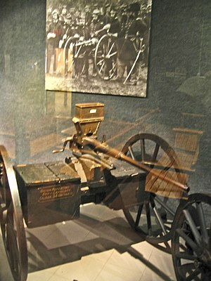 Agar gun - The weapon at the Springfield Armory Museum