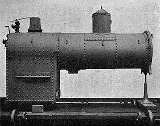 Steam dome - Image: Ahrons (1921) Steam Locomotive Construction and Maintenance Fig 07