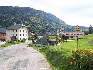 Aillon-le-Jeune Commune in Auvergne-Rhône-Alpes, France