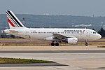 Air France, F-GRXB, Airbus A319-111 (28363627492) (2).jpg
