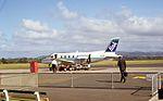 Air New Zealand Link Embraer 110 at Tauranga Airport.jpg