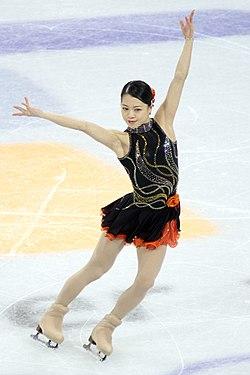 Akiko Suzuki at the 2010 Olympics (1).jpg