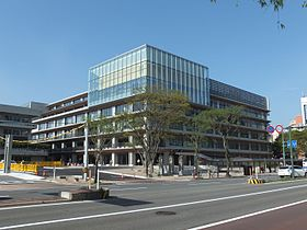 Akita City Hall main building 20160509b.jpg
