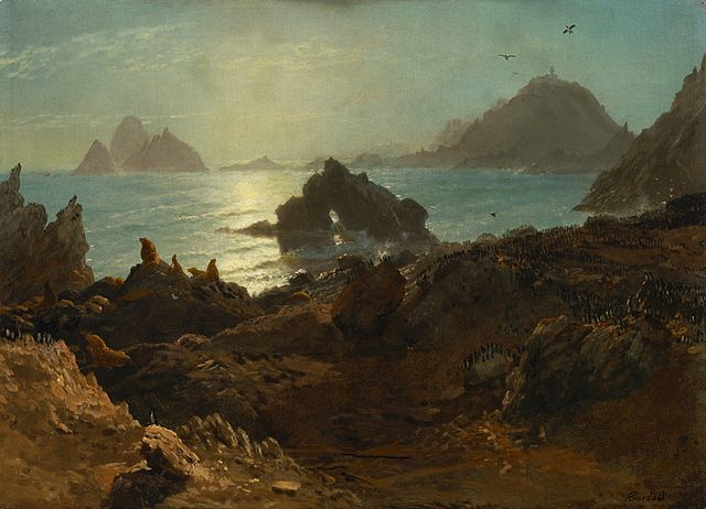 File:Albert Bierstadt - Farallon Islands (1872).jpg ...